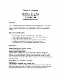 Unforgettable Part Time Cashiers Resume Examples to Stand Out     Resume Sample For On Campus Job Part Time Resume Sample