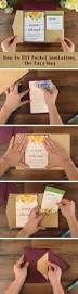 Discount Wedding Invitations With Free Response Cards How To Diy Pocket Invitations The Easy Way Free Invitation