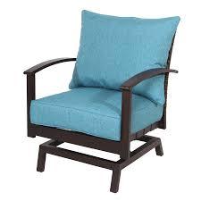 Deep Seat Patio Chair Cushions Shop Allen Roth Texture Deep Seat Patio Chair Cushion For