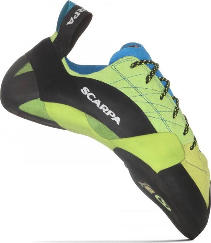 Scarpa Mago Climbing Shoes Bright Lime Medium 40.5 70057/000-Brlim-40.5