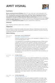 National Sales Manager Resume Samples   VisualCV Resume Samples     National Sales Manager Resume Samples