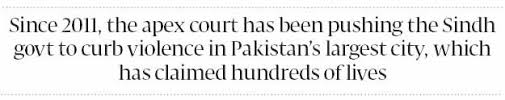 Law and order case  Karachi     s land grabbed by state entities  SC