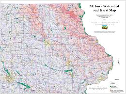 Map Of Iowa State by Water Supply Wells