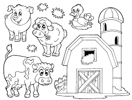 farm animal colouring www mindsandvines com