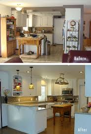 Before And After Kitchen Makeovers 154 Best Kitchen Images On Pinterest Living Room Ideas
