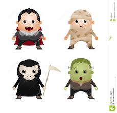 halloween characters clipart halloween characters royalty free stock image image 23828846
