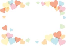 ハート イラスト 淡いピンク色のハートマークの無料イラスト素材 イラストイメージ