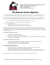 Cosmetologist Resume Objective Examples Of Objectives On A Resume Example Resume Objective Resume