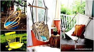 Macrame Hammock Chair Top 10 Diy Hanging Chairs Projects To Try This Spring