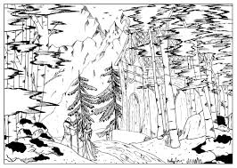 landscape by valentin 2 valentin coloring pages for adults