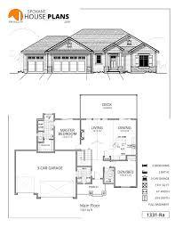 Garage Depth 1331 Rb Spokane House Plans