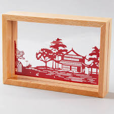 aliexpress com buy handmade home decor paper laser cut picture