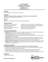Resume Job Duties Examples Essay Automotive Mechanic Resume Beautician Cosmetologist Resum