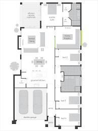 Builders Floor Plans Incredible Floor Plans For Multi Family Design With Three Bedroom