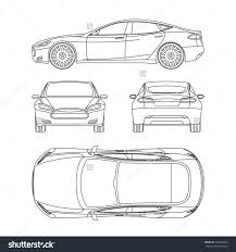 plan view stock photos images pictures shutterstock car line draw