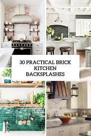 kitchen brick and stone kitchen backsplash brick kitchen