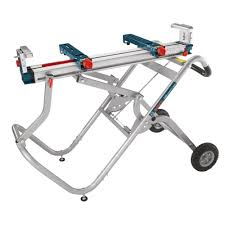Bosch Table Saw Parts by Bosch Gravity Rise Miter Saw Stand With Wheels T4b The Home Depot