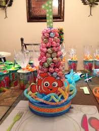 Finding Nemo Centerpieces by Finding Nemo Centerpiece Water Party Pinterest Finding Nemo