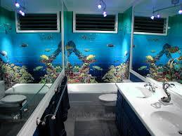Tropical Themed Bathroom Ideas Aquarium Bathroom Aquarium Bathroom Tropical Bathroom Tsc