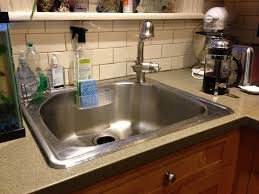 Replace Kitchen Sink Faucet by Installing Kitchen Sink Faucets U2014 The Homy Design