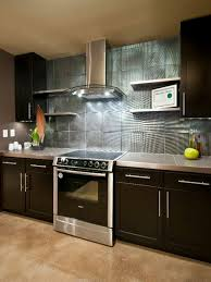 yourself diy kitchen backsplash ideas hgtv pictures glitz with lucite knobs