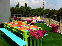 Colorful Outdoor Furniture - Colorful patio furniture