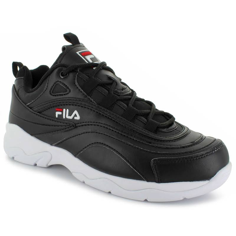 Fila Ray Black / Red White Ankle-High Sneaker 6M
