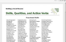 strong words for resumes resume power words 12 action words for successful sales resumes