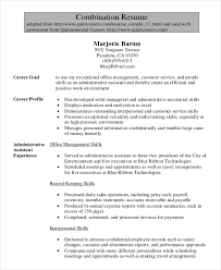 Resume Objective Executive Assistant Template aploon