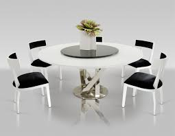 Contemporary Dining Room Sets Modern Round Dining Room Table Of Modernrounddiningtableroom I
