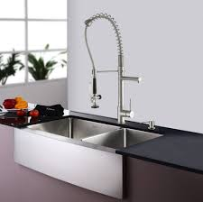 decor waterfall danze kitchen faucet in square design for kitchen