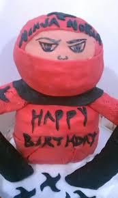 ninja birthday cake cakecentral