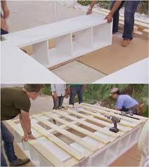 Woodworking Plans For A Platform Bed With Drawers by Best 25 Build A Bed Ideas On Pinterest Diy Bed Twin Bed Frame