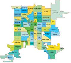 Southwest Colorado Map denver neighborhood map l find your way around denver l