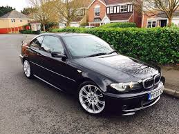 bmw 320i 2 2 2005 55 hpi clear manual m sport black e46