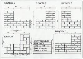 Elevation Symbol On Floor Plan Technical Drawing For Theatre Davidneat
