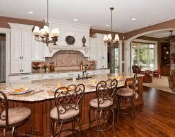 Marble Top Kitchen Islands by Granite Kitchen Stunning White Kitchen Cabinets With Brown