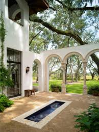 10 spanish inspired outdoor spaces hgtv