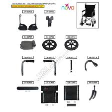 Replacement Parts For Zero Gravity Chairs Parts For Nova 309 Transport Chair Parts For Nova Products Parts