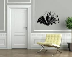 popular read wall decal buy cheap read wall decal lots from china open book literature read wall sticker home decor wall decal vinyl decals wall decoration wall mural