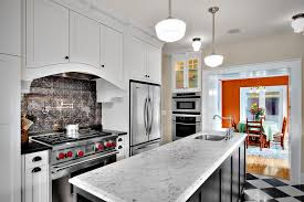 Black Countertop Tin Backsplash Ideas Farmhouse Montreal With - White tin backsplash