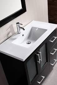 stanton 36 inch contemporary bathroom vanity set