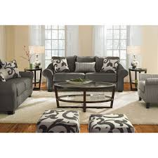 Grey Sofa And Loveseat Set 500 Colette Upholstery 3 Seat Gray Herringbone Sofa With Accent