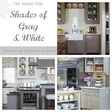 kitchen choosing cabinet colors gray and white best color for