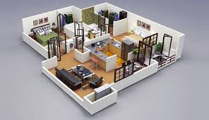 Two Bedroom Apartment Floor Plans 25 Two Bedroom House Apartment Floor Plans Amazing Architecture