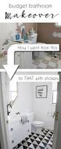 top 25 best budget bathroom makeovers ideas on pinterest budget