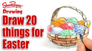 20 drawing ideas for easter youtube