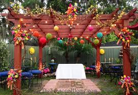 ideas for a budget friendly nostalgic backyard wedding
