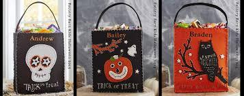 Printable Halloween Bags Diy Halloween Felt Treat Bag Bugaboocity