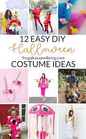 12 easy diy halloween costume ideas for everyone